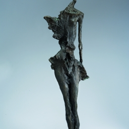 A-Thinker-Bronze-79cm-x40cm-x23cm
